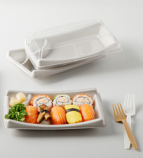 Tray - Eco-friendly biodegradable plastic products - KBF